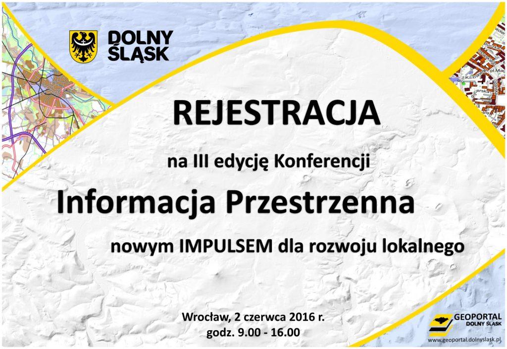 Konferencja: Informacja Przestrzenna nowym impulsem dla rozwoju lokalnego