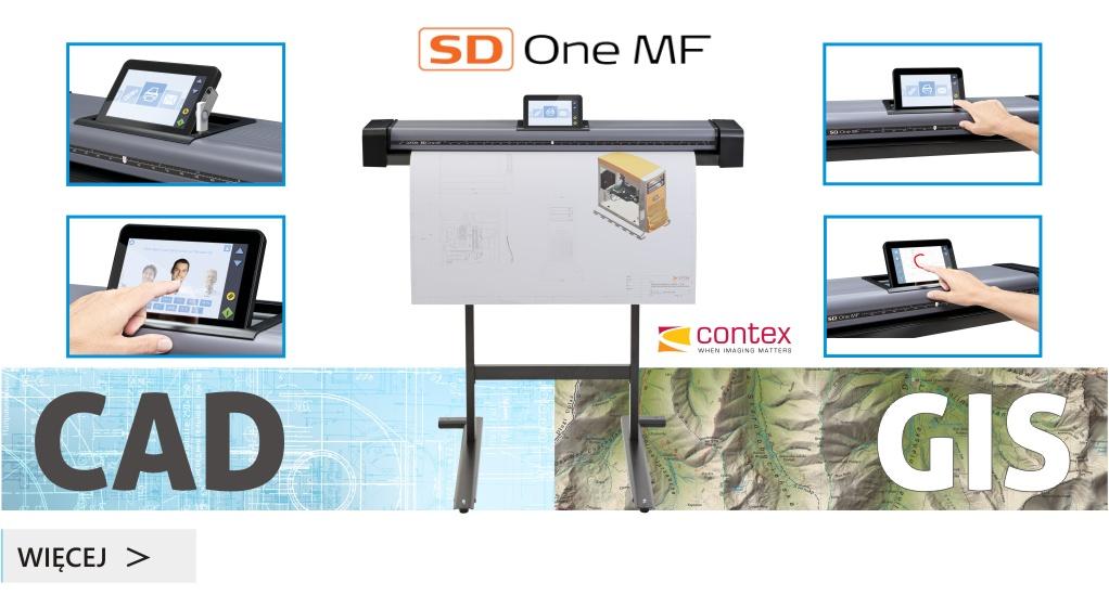 Pierwszy skaner z WiFi – Contex SD One MF