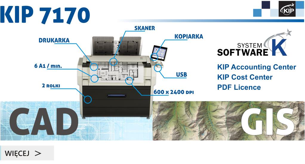 Ploter-skaner-kopiarka KIP7170 do wynajęcia