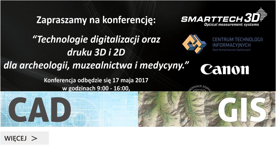Konferencja Technologie 3D dla archeologii i muzealników
